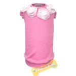 T-shirt Rosé con Fiori