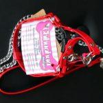 Pettorina con catena (rossa)