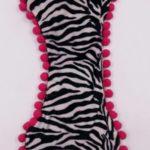 Sottociotola a forma di osso zebrato (bordi rosa)