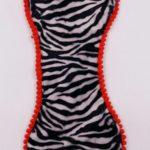 Sottociotola a forma di osso zebrato (bordi arancioni)