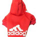 Felpa Adidog (rossa)