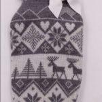 Maglioncino lana fantasia con fiocchi di neve